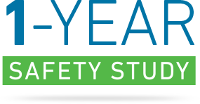 1 year safety study