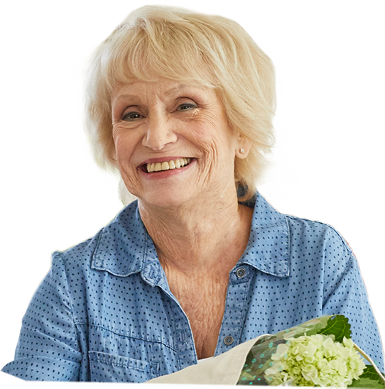 Hear from Anita, a patient who saw results when she treated her postmenopausal osteoporosis with Prolia®.